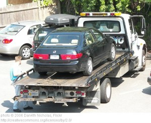 Repossessed Vehicle