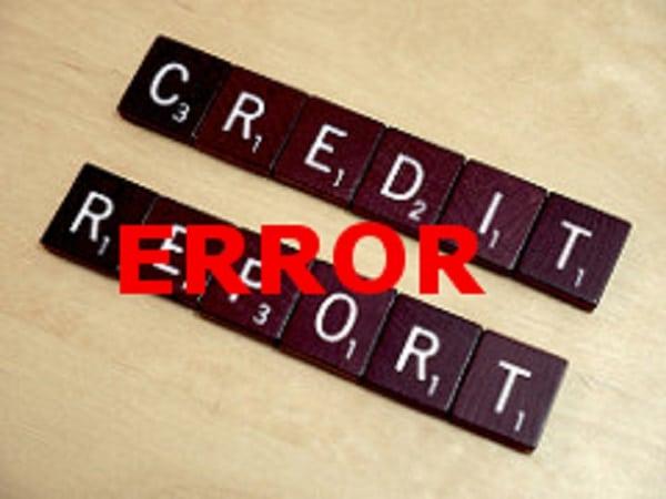 credit reporting error